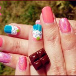#thesundaynailbattle // Cupcake fashion et sang de licorne teinté !