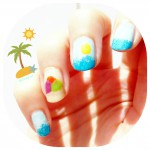 #thesundaynailbattle // Sea, nails and sun !