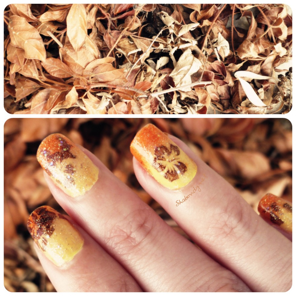 Automne Nail Art