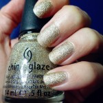 China Glaze I'm not Lion // Le vernis à paillettes qui ne ment pas !