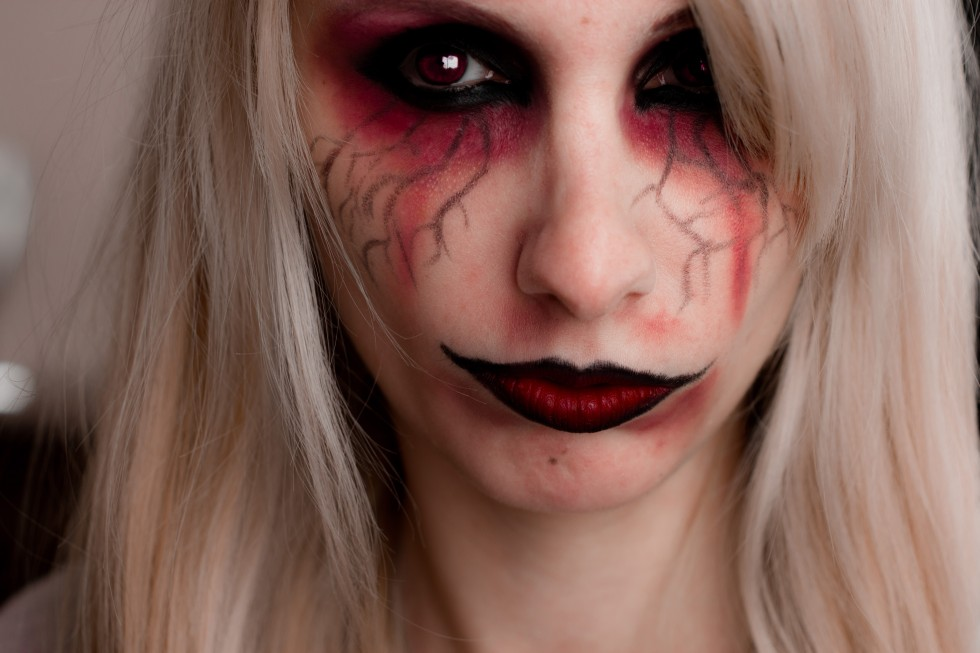 Maquillage halloween facile femme - Image maquillage halloween ...