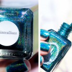 Teal et scintille avec Scintealliant de Pshiiit x Enchanted Polish !