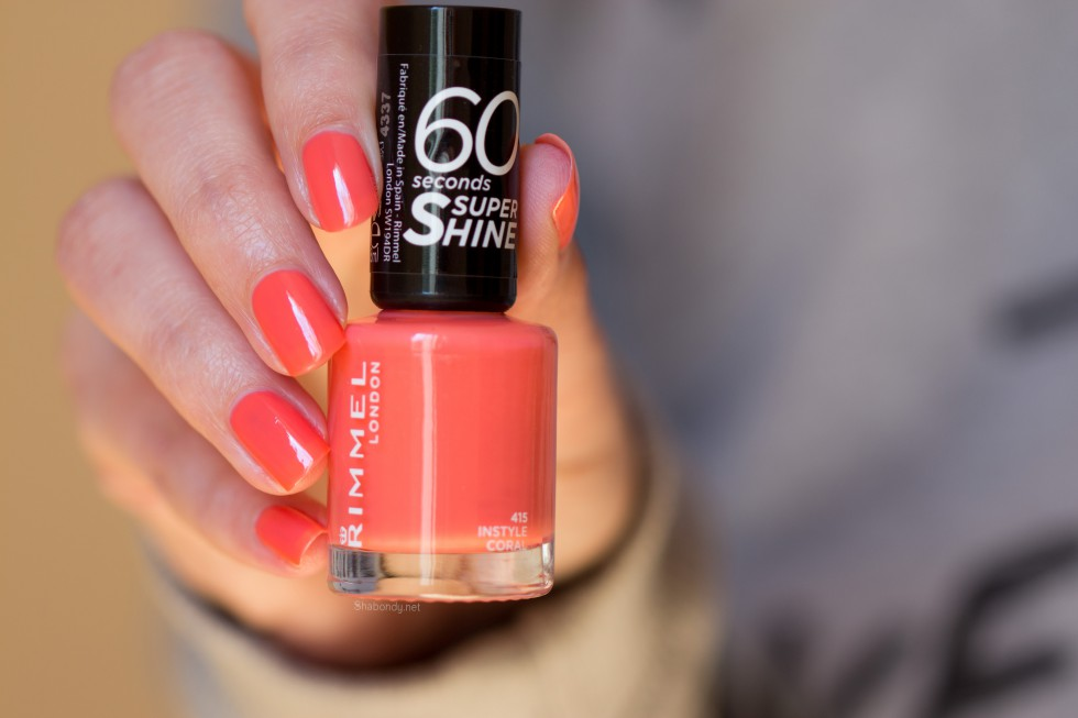 Rimmel instyle coral