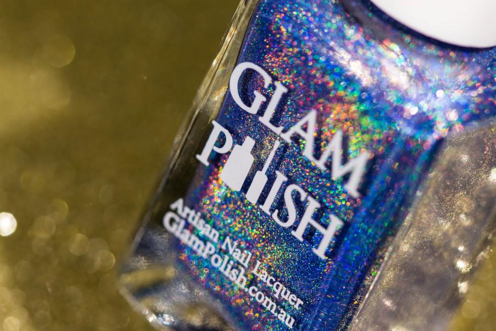 Take a bow glam polish