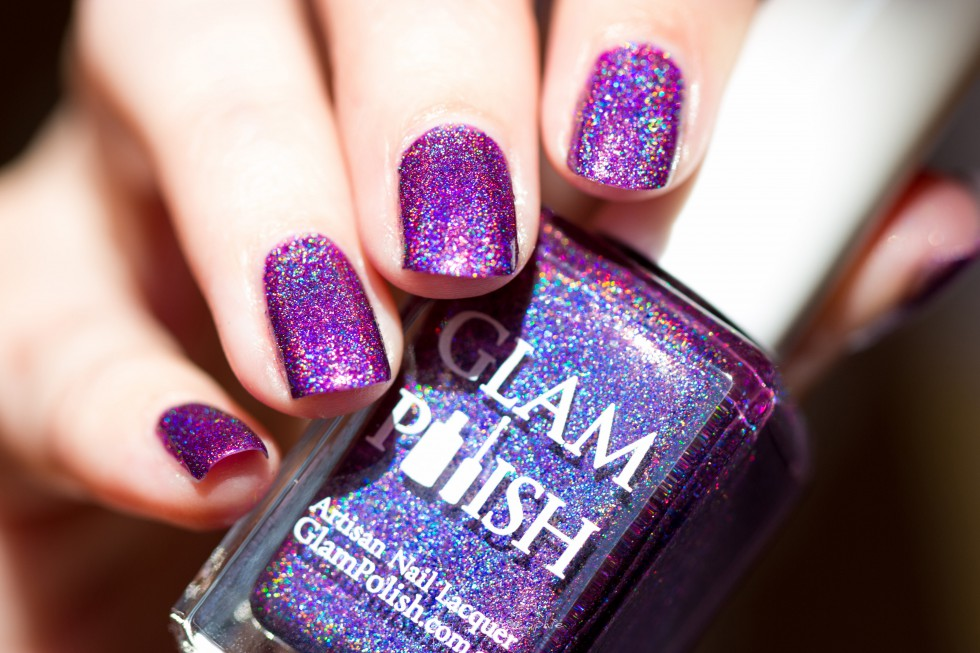 Aquarius glam polish