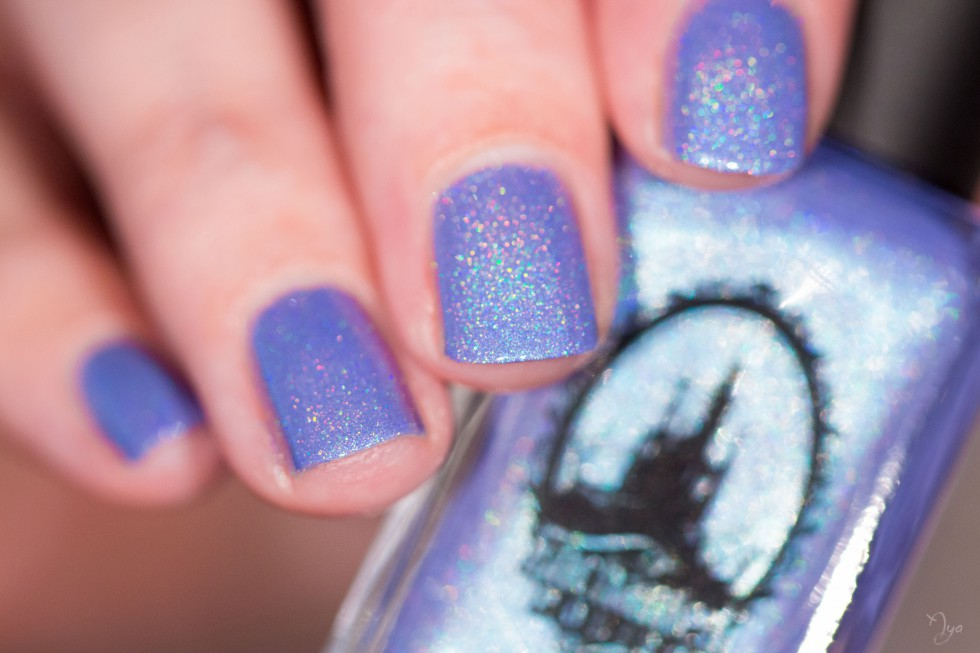 Heliotrope enchanted polish