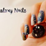 Tutoriel // L'univers, le cosmos et des Galaxy Nails !